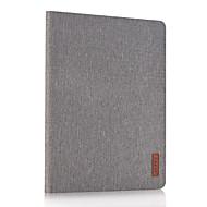 ל עם מעמד מגן גוף מלא מגן צבע אחיד קשיח דמוי עור ל Apple iPad 4/3/2