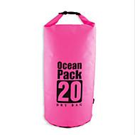20 L Waterdichte droge tas Compressie Pack Zwemmen Strand Kamperen&Wandelenwaterdicht Sneldrogend Regenbestendig VochtBestendig Drijven