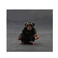 Pretend Play Model & Building Toy Toys Novelty Monkey Plastic Black For Boys