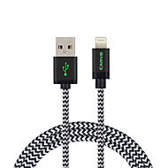mfi 2m (6 pés) de cabo relâmpago trançado usb sincronização e cobrar para Apple iPhone 7 6s plus se 5s / ar ipad / Mini