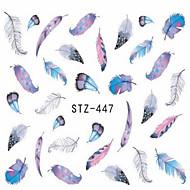 1pcs Adesivos para Manicure Artística Decalques de transferência de água maquiagem Cosméticos Designs para Manicure