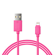 IMF cable certificado cargador de datos USB cable de sincronización para el iPhone 7 6s 5s Plus SE ipad 1m ppid146643-0073