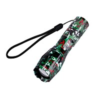 U'King ZQ-X1061RC CREE XML T6 2000LM Camouflage 5Mode SOS Zoomable Flashlight Torch