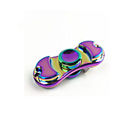 Spinning Top Novelty Square Metal Rainbow