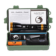 U'King ZQ-X1072GO#1-EU CREE XML T6/ Double Modes COB 2000lm Flashlight Torch Kit Multifunction with Window Hammer and Magnet