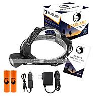 Hodelykter LED 2000 Lumens 1 3 Modus Cree XM-L T6 18650 KompaktstørrelseCamping/Vandring/Grotte Udforskning Dagligdags Brug Sykling Jakt