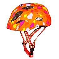 スポーツ 子供用 男女兼用 バイク ヘルメット 10 通気孔 サイクリング サイクリング マウンテンサイクリング ロードバイク レクリエーションサイクリング ハイキング 登山 PC EPS ホワイト レッド ブラック オレンジ