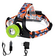 U'King ZQ-X8001BGreen CREE T6 2000LM LED Headlamps Kits 3 Mode Adjustable Focus Zoomable