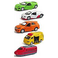 Voiture de Course Playsets de véhicules Jouets de voiture 1:64 Plastique Métal Arc-en-ciel Maquette & Jeu de Construction