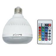 youoklight 1db E26 / E27 4w bluetooth rgb zene lámpa távirányító mini okos audio hangszóró RGB zene led izzó disco party klub