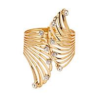 ビッグ18Ku7®分厚いゴールドは、男性または女性のブレスレットのためのカフブレスレットの腕輪メッキ