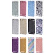 luxus bling teljes test védő fólia matrica iPhone 6 / iPhone 6s (vegyes színek)