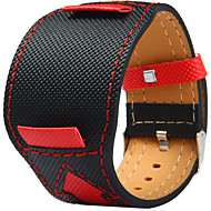 22cm  Normal watch band Canvas leather band Arrows pattern