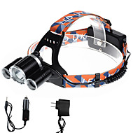 U'King ZQ-X819B-US CREE XM-L T6/2*R5 Headlamp 5000LM LED 4 Mode for Camping Hiking Bike Outdoor UV light