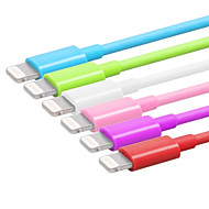 Lightning USB 3.0 Kabel Opladerkabel Opladerledning Data & Synkronisering Normal Kabel Til Apple iPhone iPad 100