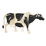 Jigsaw Puzzles Wooden Puzzles Building Blocks DIY Toys Milk Cow 1 Wood Ivory Model & Building Toy