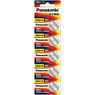 Panasonic CR2016 litium-ioni litiumakku 3v 5 kpl