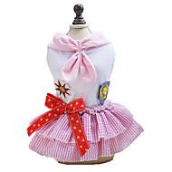 犬用品 ドレス 犬用ウェア 夏 春/秋 セーラー キュート ファッション クラシック ブルー ピンク
