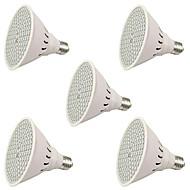 6W E27 LED Grow Lights 106 SMD 3528 2500-3000 lm Red Blue AC85-265 V 5 pcs