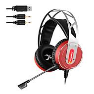 xiberia V12 gaming slušalica vodio svjetlo računala super bas Casque audio vibracije i sjaj PC Gamer slušalice s mikrofonom