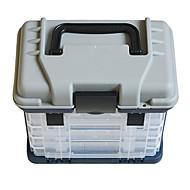a képet vízálló általános halászati műanyag horgászfelszerelés box