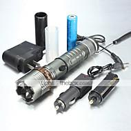 Torce LED Torce LED 1000/1200/2000 Lumens 5 Modo XM-L2 T6 18650 AAAMessa a fuoco regolabile Impermeabili Ricaricabile Impugnatura