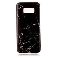 For IMD Etui Bagcover Etui Marmor Blødt TPU for Samsung S8 Plus S8