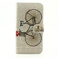 Käyttötarkoitus kotelot kuoret Lomapkko Korttikotelo Tuella Flip Kuvio Kokonaan peittävä Etui Piirretty Kova PU-nahka varten Samsung