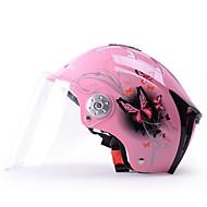 透明レンズと54〜61センチメートルためYEMA 310ヘルメット夏のABSアンチUVハーフヘルメット