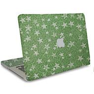1 stuks Krasbestendig 3D Transparante kunststof Lichaamssticker Glitterglans Patroon VoorMacBook Pro 15'' with Retina MacBook Pro 15 ''
