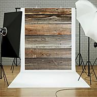 5x7ft drewniane ścienne podłogowe tło studio rekwizyty niebieski temat zarządu nowy