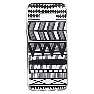 Varten Läpinäkyvä Kuvio Etui Takakuori Etui Linjat / aallot Pehmeä TPU varten SamsungS8 S8 Plus S7 edge S7 S6 edge plus S6 edge S6 S4