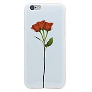 Mert IMD Minta Case Hátlap Case Virág Puha TPU mert AppleiPhone 7 Plus iPhone 7 iPhone 6s Plus iPhone 6 Plus iPhone 6s iPhone 6 iPhone