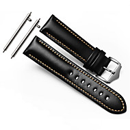 For Gear S3 Frontier Classic Strap WatchBand 22mm Genuine Leather Watchband With Secure Metal Clasp Buckle Man Watchband