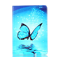 For Apple iPad Mini 4 3 2 1 Case Cover Butterfly Pattern Card Stent PU Material Flat Protection Shell