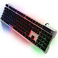 sades könnyű nyelv számítógép usb gaming 7-szín háttérvilágítás 104 kulcsok lol DOTA