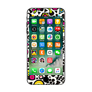 1 stk Ridsnings-Sikker Tegneserie Transparent plastik Klistermærke Selvlysende Mønster ForiPhone 7 Plus iPhone 7 iPhone 6s Plus/6 Plus