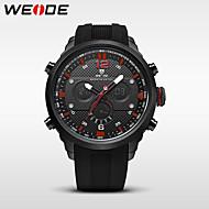 WEIDE Αντρικά Αθλητικό Ρολόι Στρατιωτικό Ρολόι Ρολόι Φορέματος Μοδάτο Ρολόι Ρολόι Καρπού Ψηφιακό ρολόι Ιαπωνικά Χαλαζίας Ψηφιακό