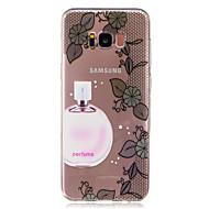 Na Etui Pokrowce Przezroczyste Wzór Etui na tył Kılıf Koronka Seksowna dziewczyna Miękkie TPU na SamsungS8 S8 Plus S7 edge S7 S6 edge S6