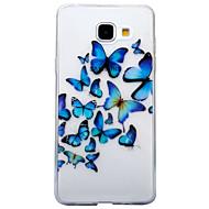 Για IMD Διαφανής Με σχέδια tok Πίσω Κάλυμμα tok Ζώο Πεταλούδα Μαλακή TPU για Samsung A5 (2017) A3 (2017) A5(2016) A3(2016)