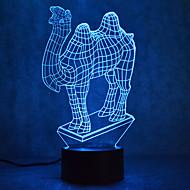 Weihnachten Kamel Touch Dimmen 3d führte Nachtlicht 7colorful Dekoration Atmosphäre Lampe Neuheit Beleuchtung Weihnachtslicht