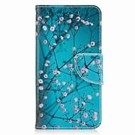 Voor samsung galaxy j5 prime j5 (2017) kaarthouder portemonnee met standaard flip patroon hoesje vol body case bloem hard pu leer j7