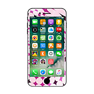 For iPhone 7 Plus Pink Swirl Color Before And After The Whole Stickers Light in The Dark for iPhone 6 6S Plus SE/5s/5/5 /4/4s