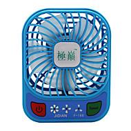 Jidian f168 fan usb mini oplader kleine ventilator draagbare slaapzaal desktop grote wind demper fan