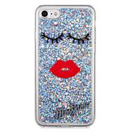 Voor apple iphone7 7 plus case cover patroon achterkant behuizing glitter shine cartoon zachte tpu 6s plus 6 plus 6s 6