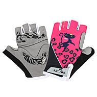 BAT FOX Sports Gloves Women's Cycling Gloves Summer Bike Gloves Quick Dry Wearable Breathable Shockproof Fingerless Gloves Mesh Lycra