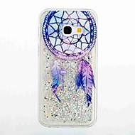 Για Ρέον υγρό Με σχέδια tok Πίσω Κάλυμμα tok Ονειροπαγίδα Μαλακή TPU για Samsung A3 (2017) A5 (2017) A5(2016) A3(2016)
