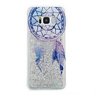 Samsung Galaxy s8 plusz s8 telefon esetében álom elkapó minta áramló folyadék csillogás puha TPU matéria s7 szélén s7 s6 él s6 s5