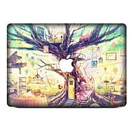 1 Pça. Resistente a Riscos Floral/Botânico De Plástico Transparente Adesivo Estampa ParaMacBook Pro 15'' with Retina MacBook Pro 15 ''
