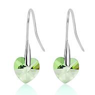 Dame Øreringe sæt Smykker Mode Personaliseret Euro-Amerikansk Krystal Legering Smykker Smykker For Bryllup Fest 1 Par